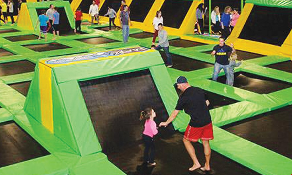 Product image for Max Air Trampoline Park $15 for $30 worth of Fun at Max Air