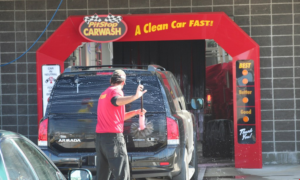 Product image for Pitstop Carwash $30 For 4 Best Value Car Washes (Reg. $60)