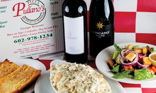 Product image for Pullano's Pizza & Wings $15 For $30 Worth Of Casual Italian Dining
