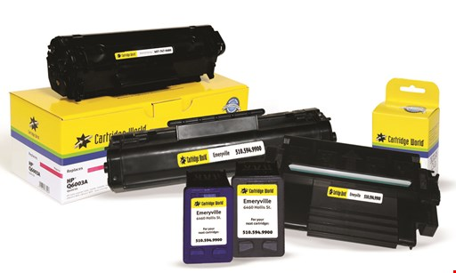 Product image for Cartridge World $12.50 For $25 Toward Cartridge Refills