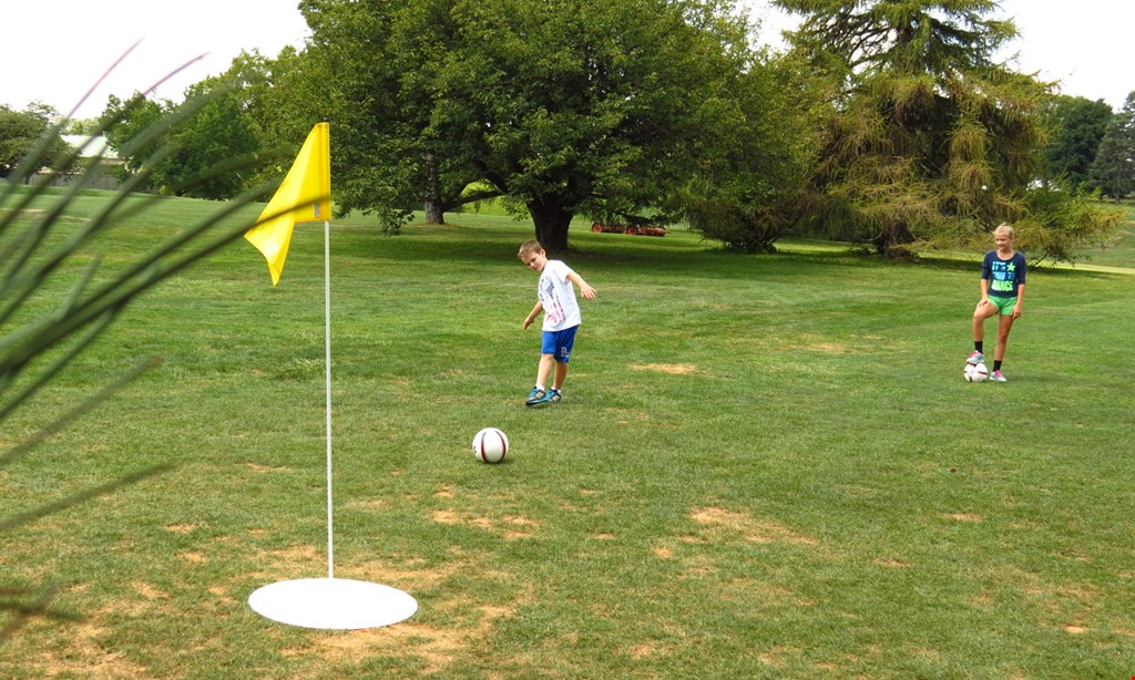 Product image for Mcdaniel College Golf Club $20 For 18 Holes Of FootGolf For 4 (Reg. $40)