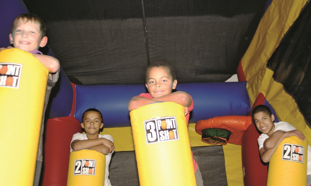 Product image for Xtreme Jump Zone $20 For $40 Toward Bounce Fun (Purchaser Will Receive 2-$20 Certificates)
