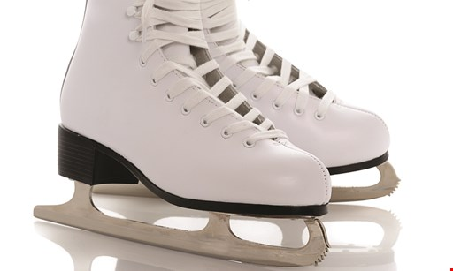 Product image for Regency Ice Rink $20 For 4 Public Skating Admissions & 4 Skate Rentals (Reg. $40)