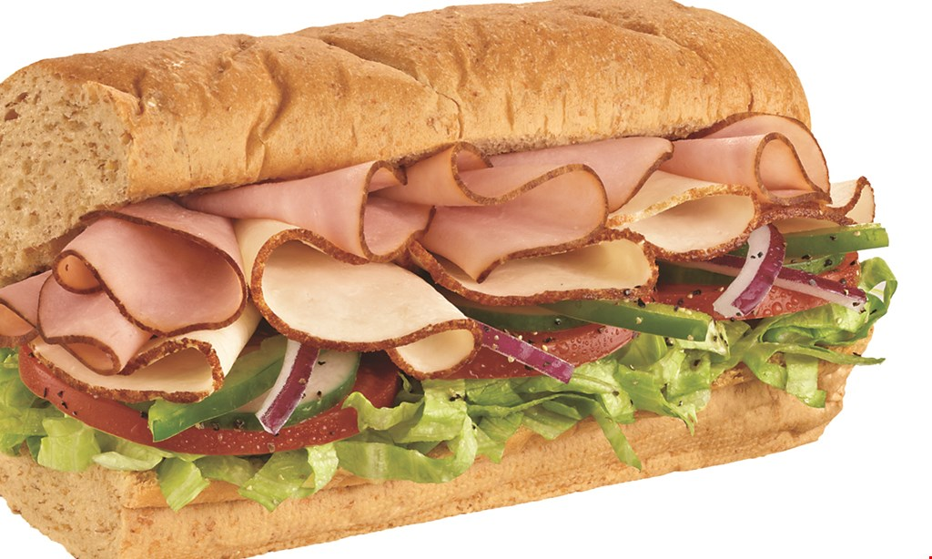 Product image for Subway $10 For $20 Worth Of Subs & Sandwiches