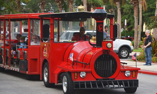 Product image for RED TRAINS C/O RIPLEYS ENT. $13.00 for a 3 Day Pass for Train Ride Admission Aboard Ripley's Sightseeing Trains (Reg $26)