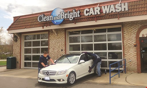 Product image for Clean and Bright Car Wash $22.99 For 2 Ultimate Full-Service Car Washes (Reg. $45.98)