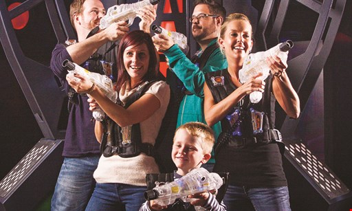 Product image for Laser Kingdom $10 For 2 Games Of Laser Tag For 2 People (Reg.$20)