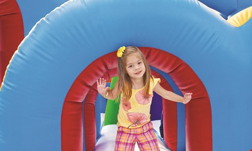 Product image for Pump It Up $18 For A 5 Open Jump Session Punch Card (Reg. $36)