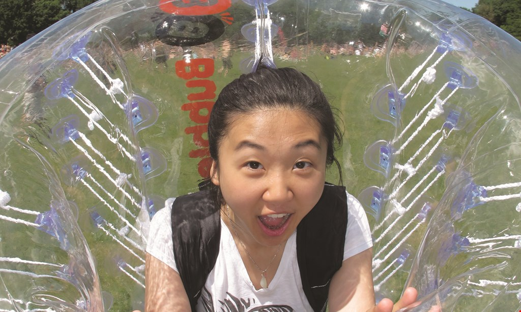 Product image for The Edge Sports Center $125 For 1 Hour Of Bubble Soccer Or Archery Tag For Up To 10 People (Reg. $250)