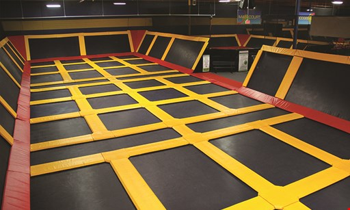 Product image for Sky High Sports Trampoline Park $11.50 For 2 Hours Of Jumping For 1 Person (Reg. $23)