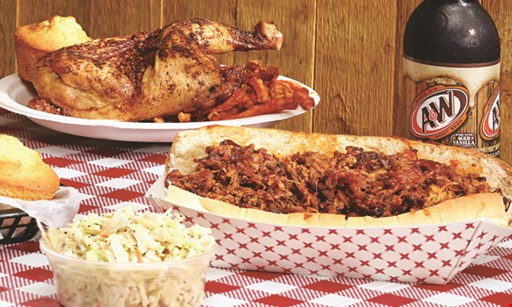 Product image for Pig Pit BBQ $10 For $20 Worth Of Casual Dinner Dining (Purchaser Will Receive 2-$10 Certificates)