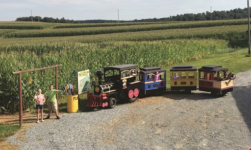 Product image for Maize Quest Corn Maze & Fun Park $42 For 4 Admissions To Maize Quest Corn Maze & Fun Park (Reg. $84) Valid 9/5-11/8, 2020
