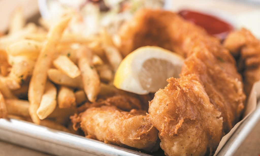 Product image for Surf City Fish Grill $10 For $20 Worth Of Fresh Casual Seafood Dining (Also Valid For Take-Out W/ Min. Purchase Of $30)