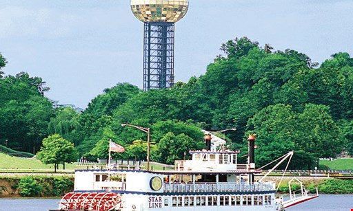 Product image for Tennessee River Boat Company $50 for a Deluxe Riverboat Dinner Cruise for 2 People (Reg $100)