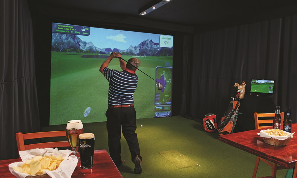 Product image for Burden Lake Country Club $40 For A 2-Hour Indoor Golf Simulator Session (Reg. $80)