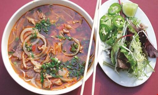 Product image for Dua Vietnamese Noodle Soup $10 For $20 Worth Of Vietnamese Cuisine