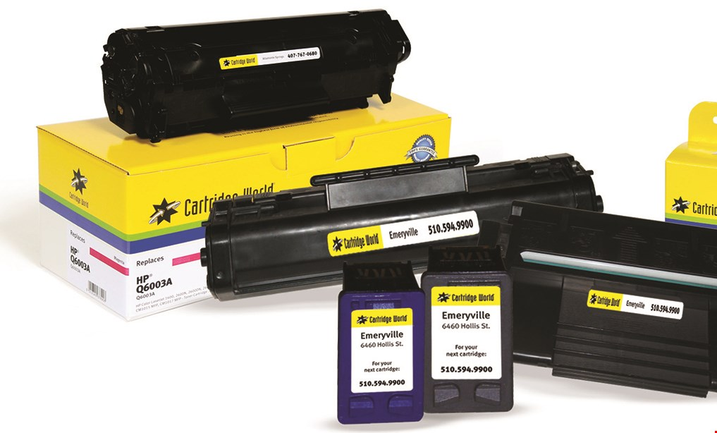 Product image for Cartridge World $15 For $30 Toward Cartridge World Products