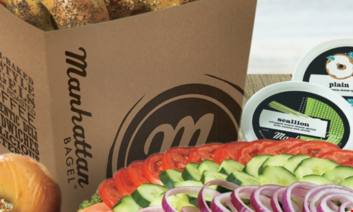 Product image for Manhattan Bagel $10 For $20 Worth Of Bagels, Bagel Sandwiches & Coffee