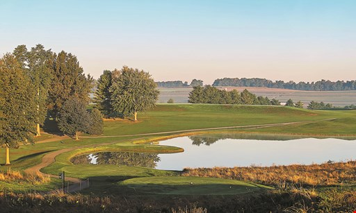Product image for Pilgrim's Oak Golf Course $60 For Green Fees, 1 Cart & 2 Small Range Buckets For 2 Players (Reg. $120)