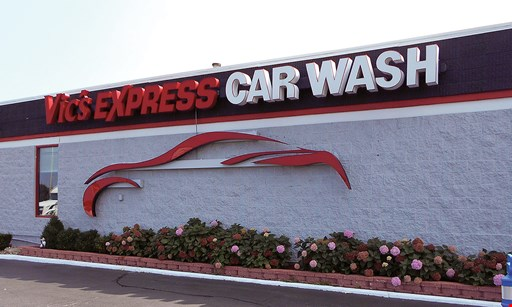 Product image for Vic's Express Car Wash & Detail Center $21 For 2 Shine 'N' Wheel Express Car Washes (Reg. $42) (Purchaser Will Receive 2-$21 Certificates)