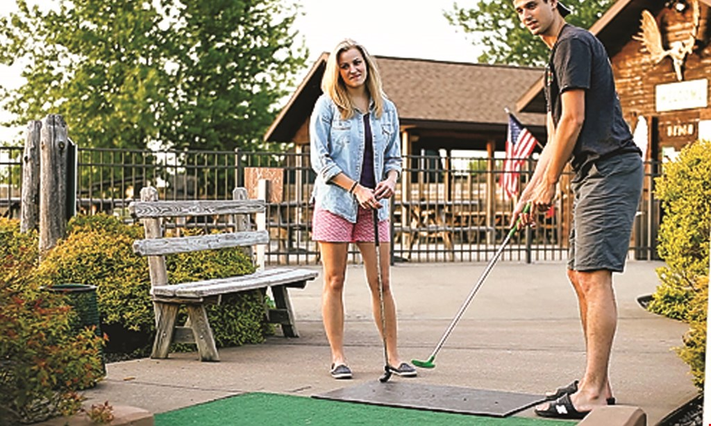 Product image for Big Don's Wild River Mini Golf $16 For A Round Of Mini Golf For 4 People (Reg. $32)