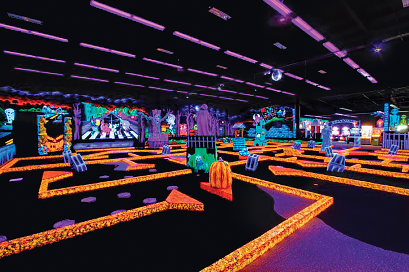 graphic about Monster Mini Golf Coupons Printable referred to as - Monster Mini Golfing - $21 For 4 Golfing
