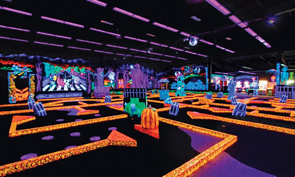 Product image for Monster Mini Golf $24 For A Round Of Mini Golf For 4 People (Reg. $48)
