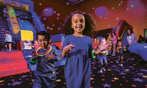 Product image for Pump It Up $25 For A 5-Session Open Jump Punch Card (Reg. $50)