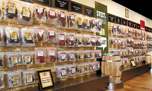 Product image for Beef Jerky Outlet $10 For $20 Worth Of Beef Jerky (Purchaser Will Receive 2 $10 Certificates)