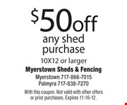 With this coupon. Not valid with other offers or prior purchases. Expires 11-16-12.
