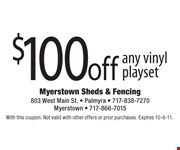 With this coupon. Not valid with other offers or prior purchases. Expires 10-6-11.
