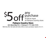 With this offer. Not valid with other offers or prior purchases. Expires 10-6-11.