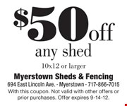 With this coupon. Not valid with other offers or prior purchases. Offer expires 9-14-12.