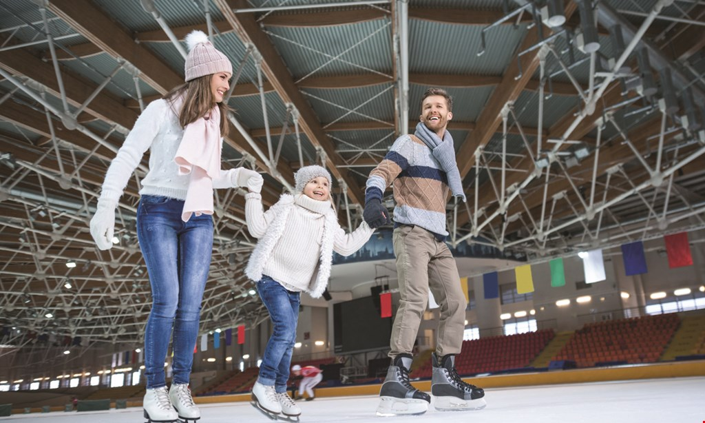 Product image for Glacier Ice and Snow Arena $16 For Skating Package For 2 (Reg. $33)