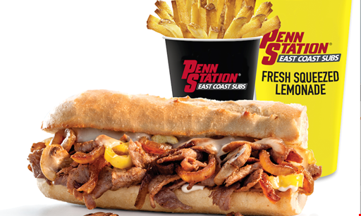 Product image for PENN STATION EAST COAST SUBS- Raleigh, Falls of Neuse Rd. Location Only $10 for $20 Worth of Subs, Fries & Drinks! Valid at Raleigh Falls of Neuse Rd. Location Only.