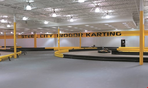 Product image for Steel City Indoor Karting $20 For 1 Race For 2 People (Reg. $40)