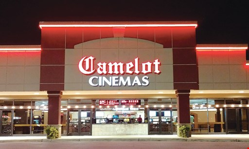 Product image for Camelot Cinemas $15 For 2 Adult Movie Tickets & A Medium Popcorn (Reg. $30)