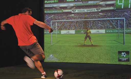 Product image for Simplay $27.50 For 1 Hour Of Multi-Sport Simulator (Reg. $55)