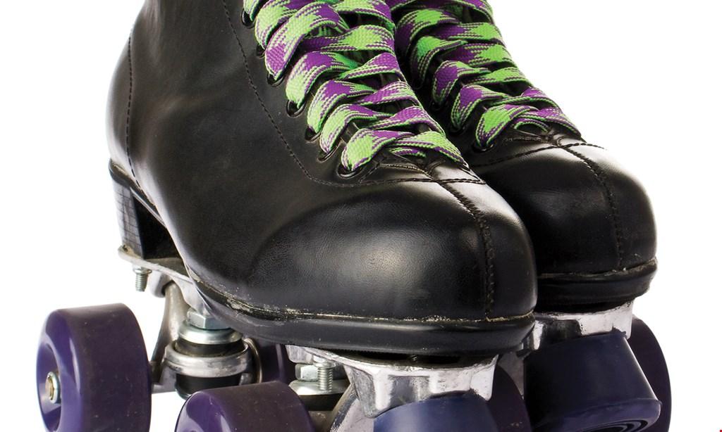 Product image for Kate's Skating Rinks $20 For Open Skate Admission & Skate Rental For 4 People (Reg. $40)
