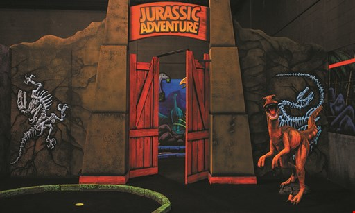 Product image for Jurassic Golf & Arcade $19 For 1 Round Of Mini Golf For 4 People (Reg. $38)