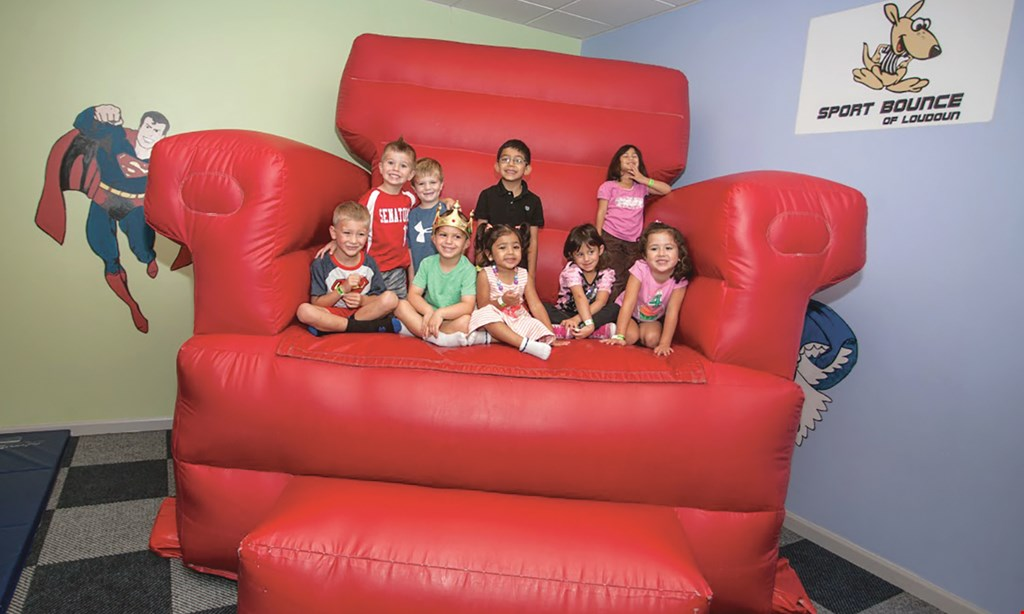 Product image for Sport Bounce of Loudoun $25 For 5 Open Bounce Passes (Reg. $50)