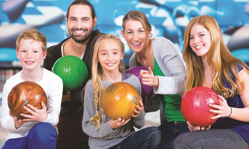 Product image for East Greenbush Bowling Center $35 For 2 Games Of Bowling With Shoes, 1 Large Cheese Pizza & 1 Pitcher Of Soda For 4 People (Reg. $70)