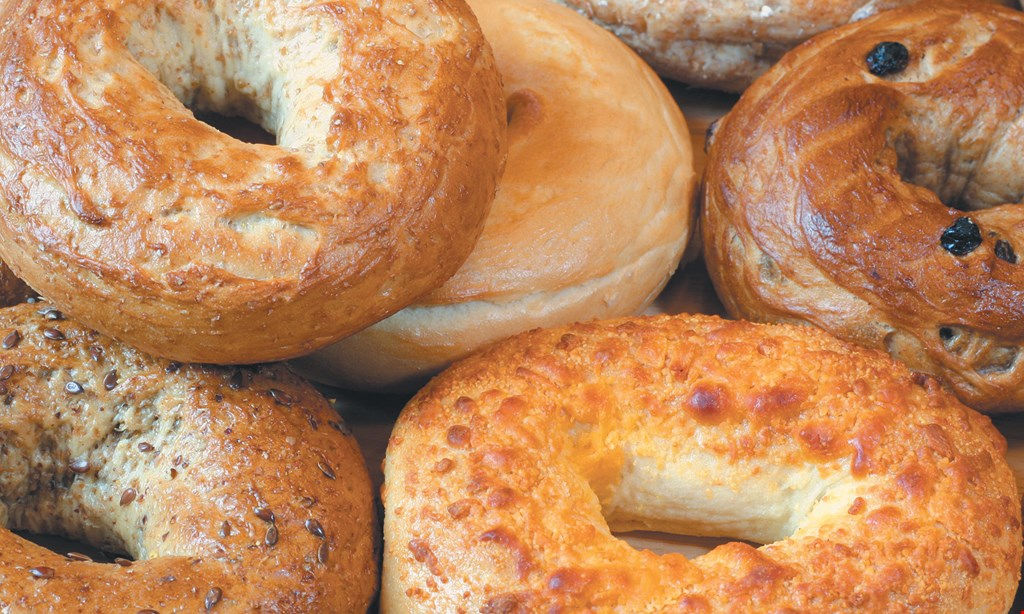 Product image for Bedford Bagel & Bakery $10 For $20 Worth Of Catering, Bagels & More