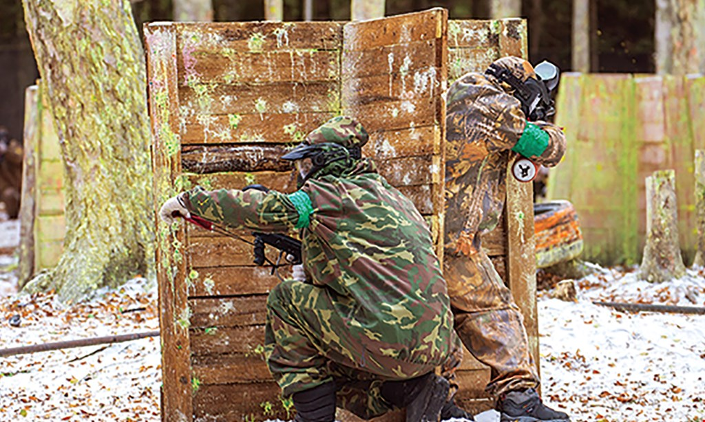 Product image for Adventure Paintball $30 For All Day Paintball For 1; Includes Admission, Rental, 500 Paint Balls, Pod Pack & Chest Protector (Reg. $68)