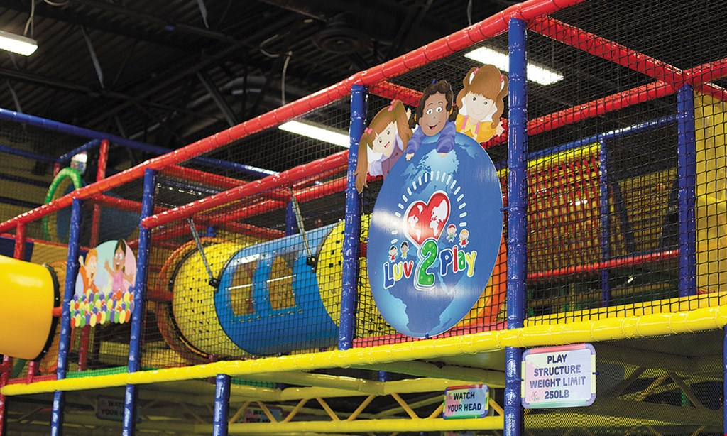 Product image for Luv 2 Play, Surprise $10 For Unlimited Same-Day Play For 2 Children (Reg. $20)