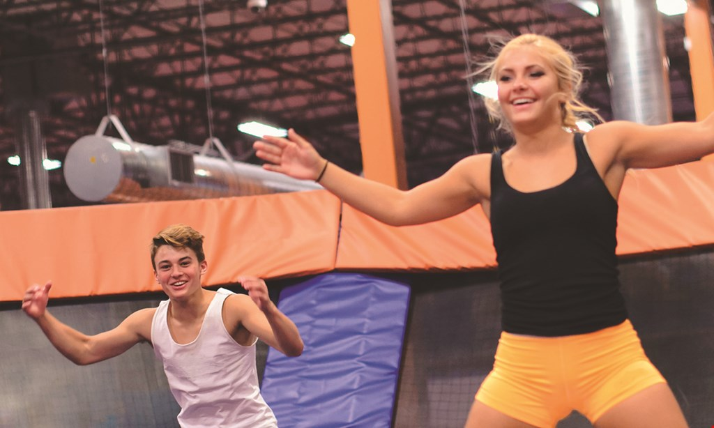 Product image for Sky Zone - Chalfont $18 For A 1-Hour Jump Session For 2 (Reg. $36)