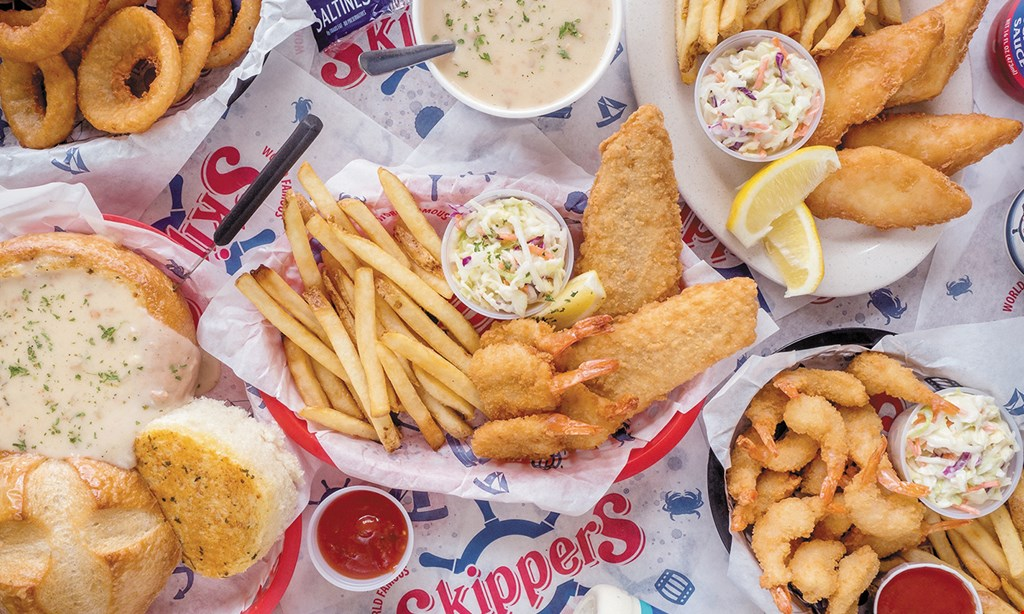 Product image for Skippers $10 For $20 Worth Of Casual Seafood Dining