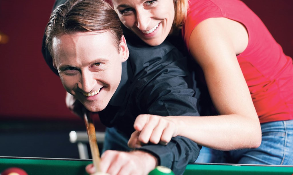Product image for Sharp Shooters Billiard Pub $15 For 1-Hour Of Pool For 2 People, 1 Appetizer & A Pitcher Of Soda (Reg. $30)