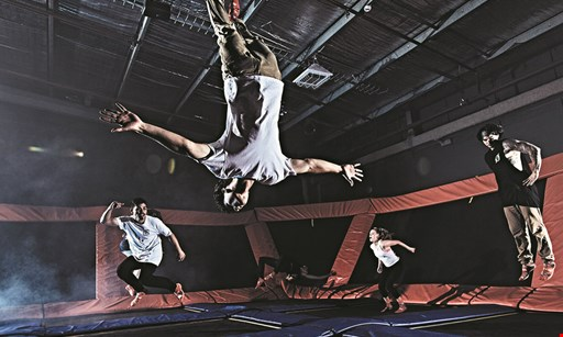 Product image for Sky Zone Trampoline Park $54 For A 2-Hour Jump Session For 4 (Reg. $108)
