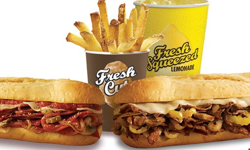 Product image for Penn Station East Coast Subs- Durham Location Only $10 for $20 Worth of Subs, Fries & Drinks! Valid at Durham Location Only.
